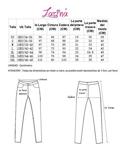 Amarillo Colombiano Vaqueros Mujer Jeans Cola de con XS 1066 34 48 up 1 elásticos Pantalones Color Levanta Push Vaqueros Amarillo XXXL Talla ZARINA®Denim Pantalones q7wEIxIa