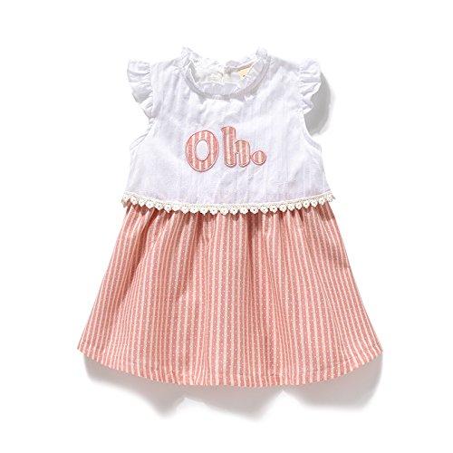 Ragazze vestito estivo bambino 0-1 principessa abito abiti per bambini  Bambini 2-3 la metà di un anno vecchio baby ragazze abiti estivi   Amazon.it  ... a9b0c5c007f
