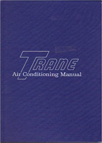 Trane Air Conditioning Manual 1989: Trane Company: Amazon com: Books