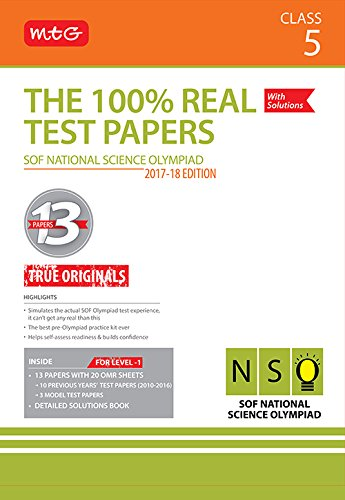 Price comparison product image The 100% Real Test Papers (NSO) Class 5