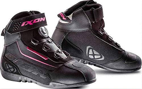 IXON イクソン Assault Evo Lady Women's Boots 女性用 ライディングブーツ ブラック/ピンク 41 (約26.5cm) B07GLHM46X  41 (約26.5cm)