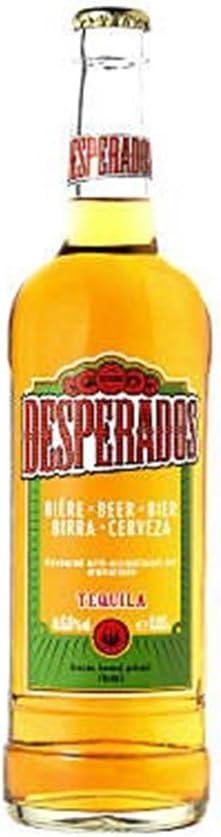 desperados tequila 65cl packung mit 12 x 650 ml