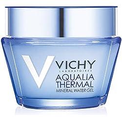 Vichy Aqualia Thermal Mineral Water Gel Facial Moisturizer, Oil-Free, 1.69 Fl. Oz.