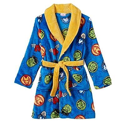 Marvel Avengers Little Boys' Fleece Bathrobe 4-10