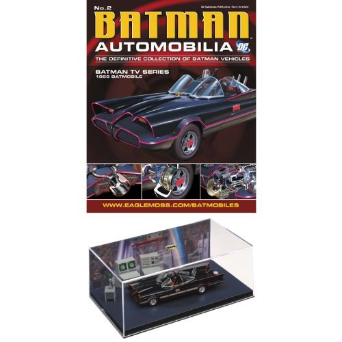 DC Batman Automobilia Fig Coll Mag #2 1966 Batman TV Series by Eaglemoss