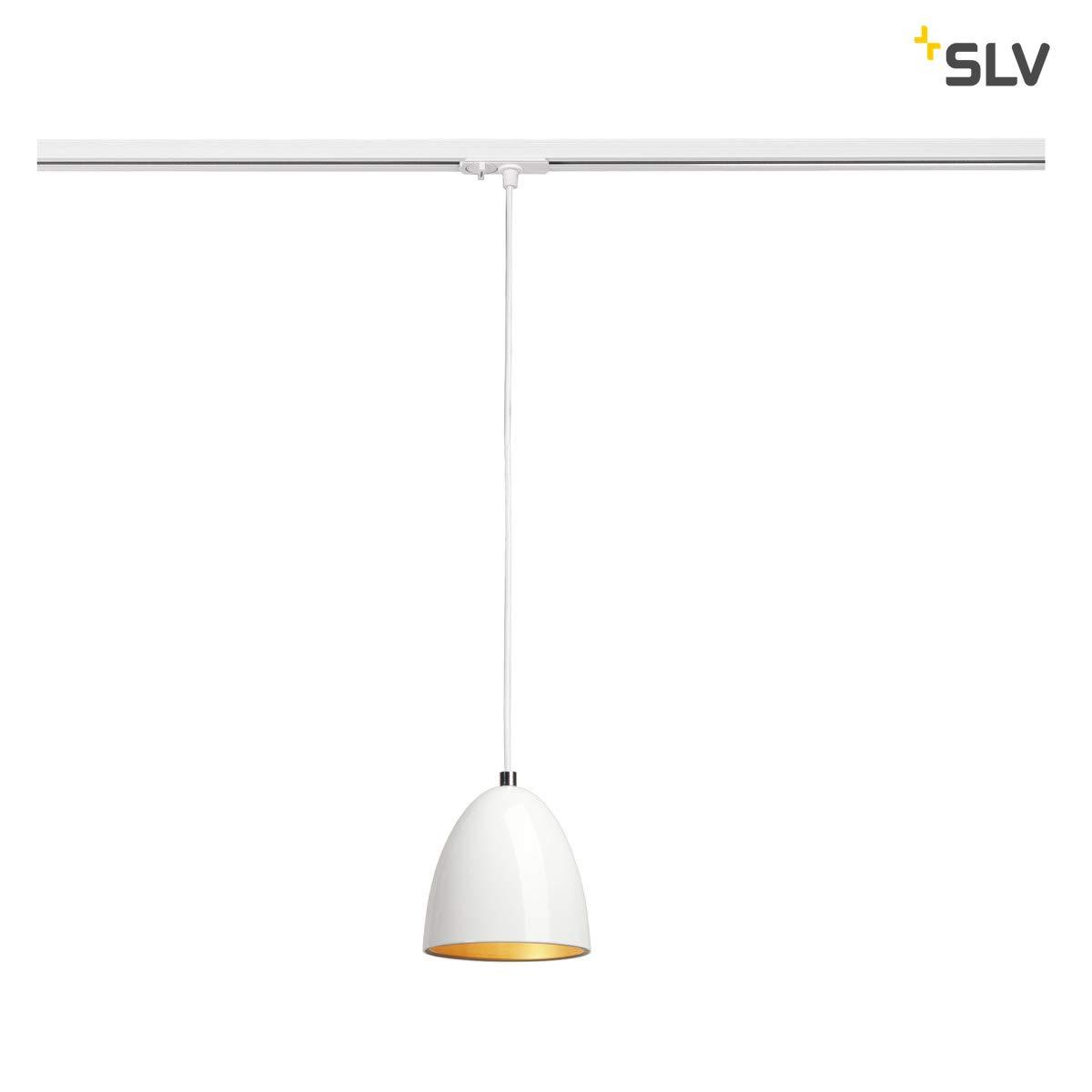 SLV PARA CONE 14 Leuchte Indoor-Lampe Stahl Weiß Lampe innen, Innen-Lampe