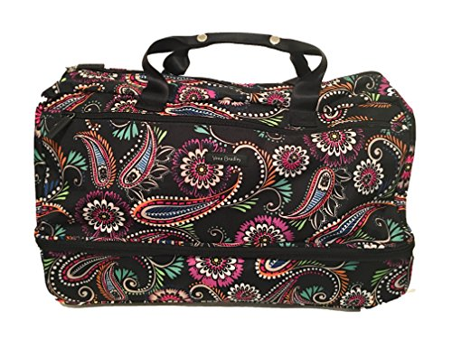 Vera Bradley Lighten Up Wheeled Carry On Bandana Swirl (Vera Bradley Wheeled Luggage)
