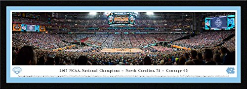 (2017 NCAA Basketball Champions - North Carolina Tar Heels - Blakeway Panoramas Print)