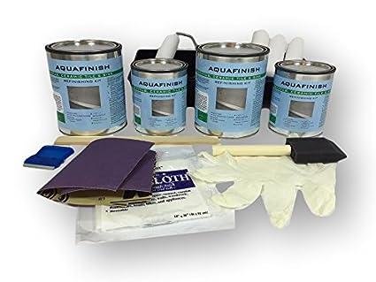 Amazon Com Aquafinish 64 Oz Bathtub And Tile Refinishing Double Kit
