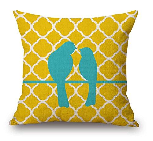 dokot lino y algodón Ikea geometría cuadrado manta funda de ...