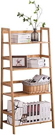 ZhaoXH 4 Nivel de Visualización de Almacenamiento con Estanterías Escalera Estante de Madera Inclinada Escalera Plataforma Balcón Flower Stand Ollas Escalera Marcos para Office Home Living: Amazon.es: Hogar