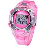 Fashion Pink Sports Digital Children Watches