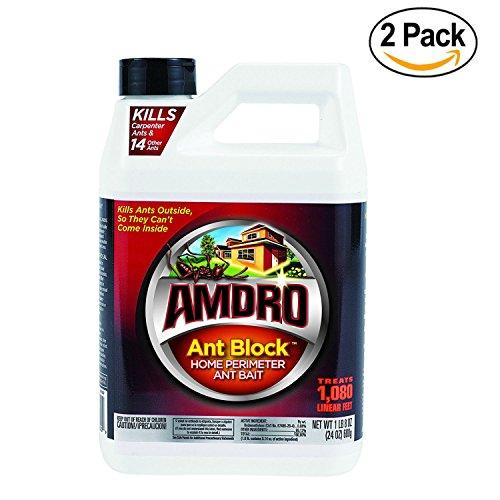 Amdro Ant Bait (Amdro Ant Block Home Perimeter Ant Bait Granules 24oz - 2 Pack)