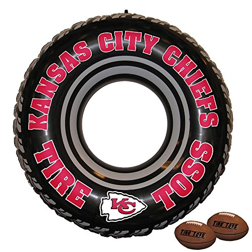 - Fremont Die NFL Kansas City Chiefs Tire Toss Game