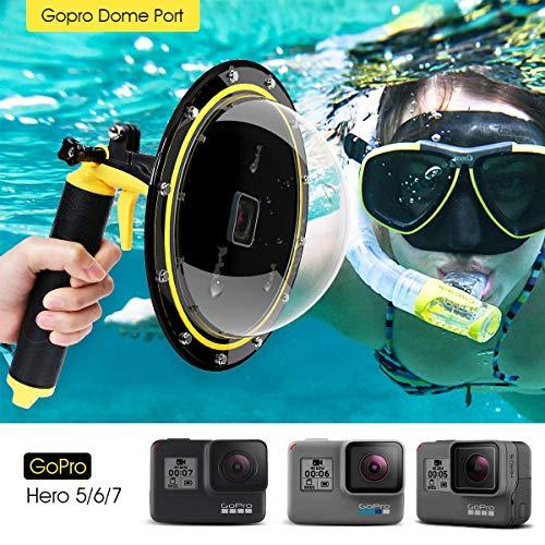 - TELESIN Gopro Dome Port Underwater 6