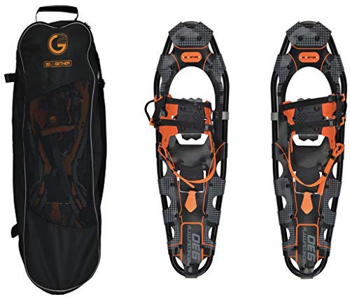G2 GO2GETHER Snowshoes Backcountry Adult (Orange, 30 in, Optimized Weight up to 250lb)
