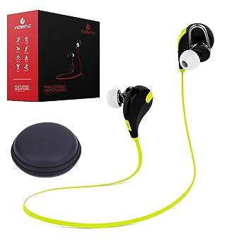 Auriculares inalámbricos Viosimc, auriculares Bluetooth con micrófono con cancelación de ruido, estilo moderno para