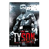 Iron Mike Tyson Boxing Record Poster Gloss Laminated - 91.5 x 61cms (36 x 24 Inches)