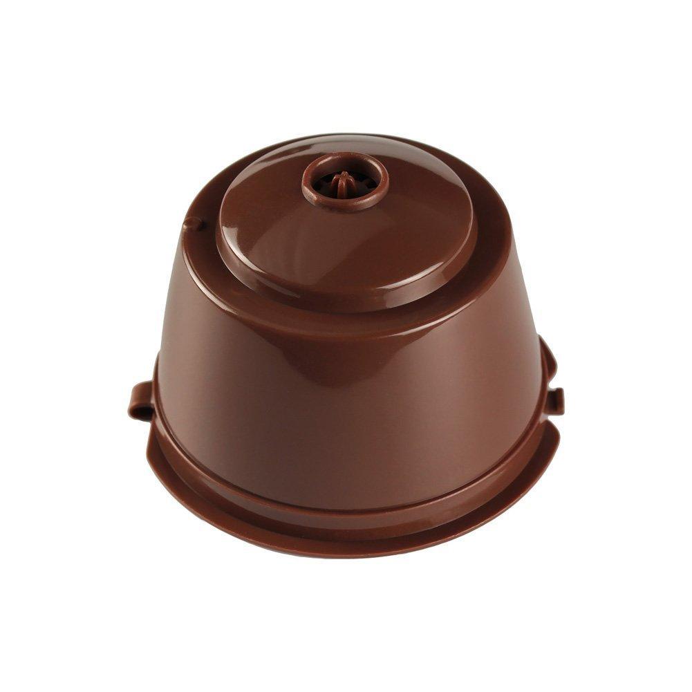 MagiDeal C/ápsula de caf/é PP reutilizable con tapa de Slicone para la m/áquina Bosch tassim 180ml haz tu caf/é favorito
