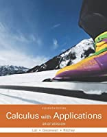 Calculus with Applications, Brief Version (11th Edition) Front Cover