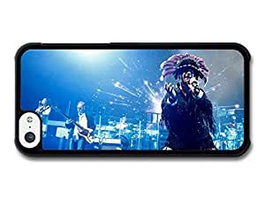 MMZ DIY PHONE CASEAMAF ? Accessories Jamiroquai Live Concert Portrait with Blue Lights case for iphone 4/4s