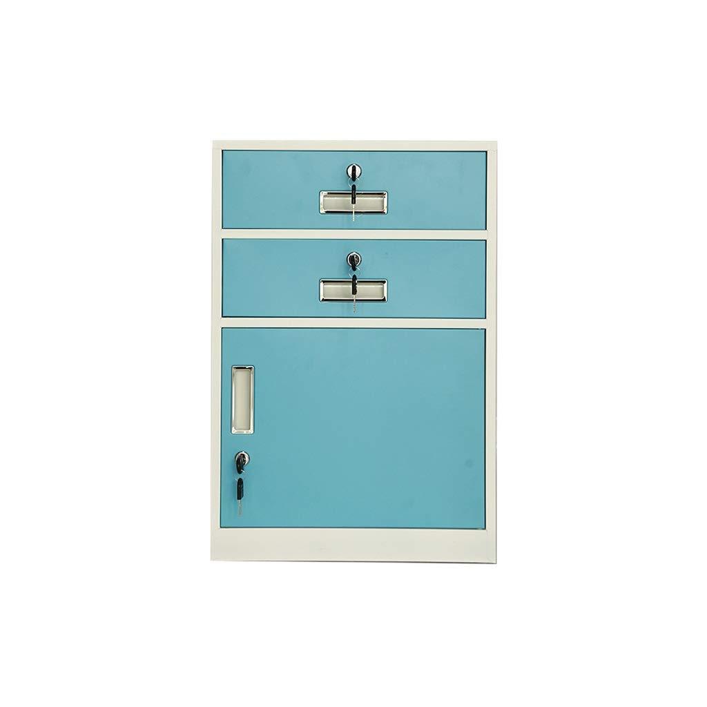 File Cabinet, Desktop Extended Drawer Office Organizer (Steel Plate) 443965CM (Color : A)