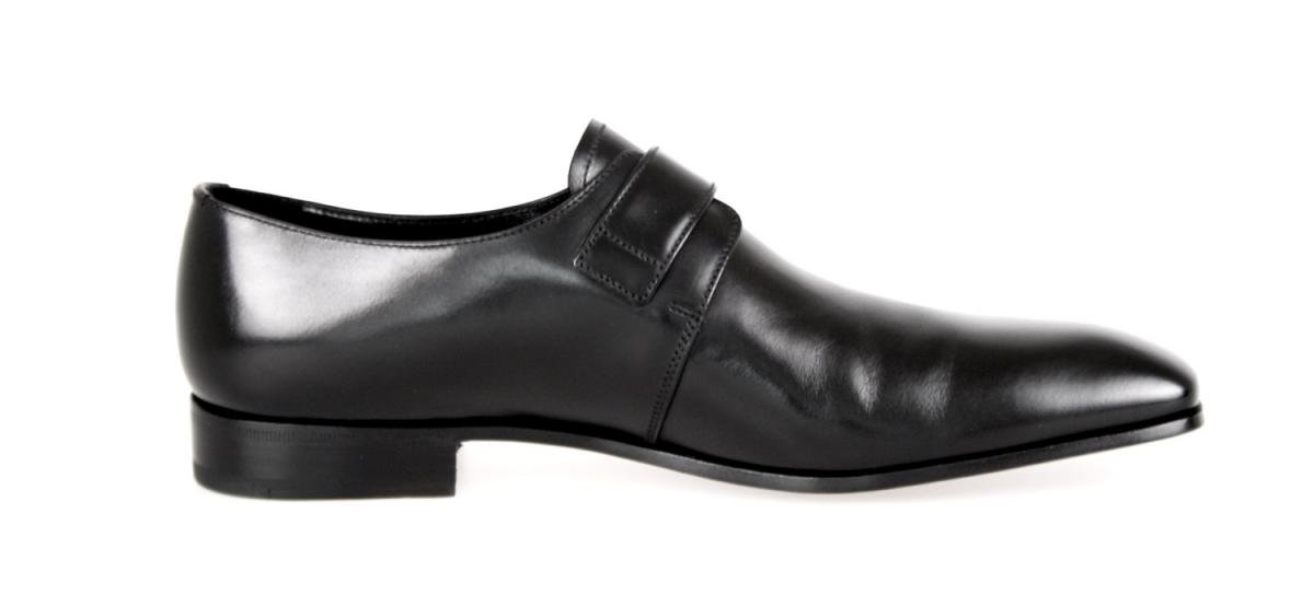 Prada Men's 2OA011 Black Leather Business Shoes EU 9.5 (43,5) / US 10.5 by Prada (Image #6)