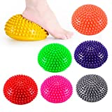 7 Pack Hedgehog Balance Pod Foot Fitness Domed Stability Pods Sets for Children and Adults
