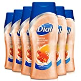 Dial Body Wash, Omega Moisture with Sea Berries, 12 Fluid Ounces (Pack of 6) For Sale