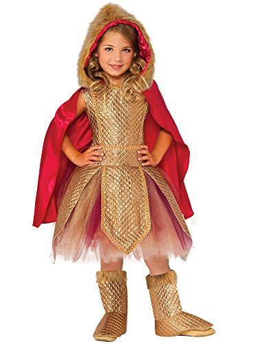 Rubie's Costume Kids Deluxe Warrior Princess Costume, Large]()