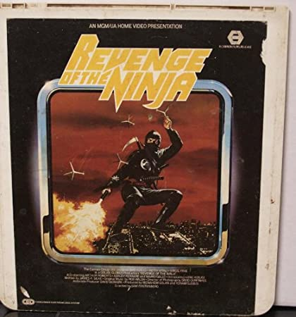 Amazon.com : Revenge Of The ninja (CED Videodisc) Cannon ...