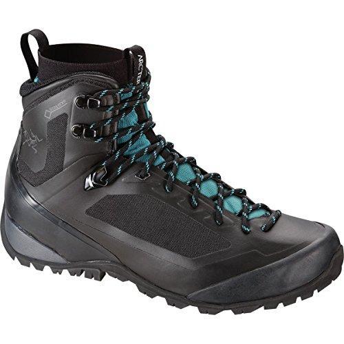 Boot Backpacking Mid Gtx (Arcteryx Bora Mid GTX Hiking Boot - Women's Black / Mid Seaspray 10 US)
