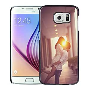 Popular And Durable Designed Case For Samsung Galaxy S6 With Lover Kissing and Hugging Phone Case