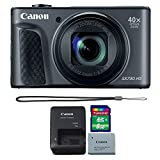 Cheap Canon Powershot SX730 HS Digital Camera (Black) with 8GB Memory Card