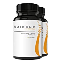 NUTRIHAIR SYSTEM - Hair, Skin & Nails Formula - Biotin Supplement, Supports Healthy Hair, Skin, and Nails - 30 Capsules