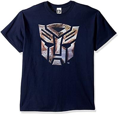 Transformers Men's Big Transformers Logo T-Shirt