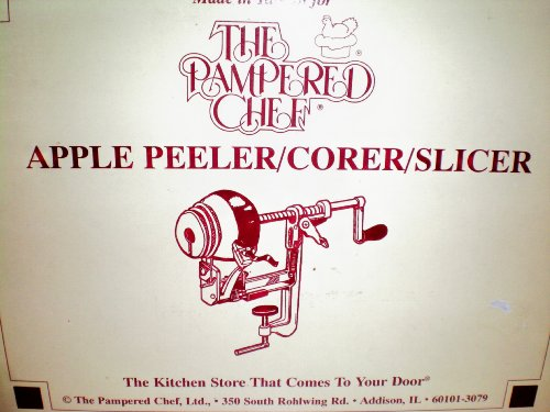 The Pampered Chef Apple Peeler/Corer/Slicer -- in box as shown