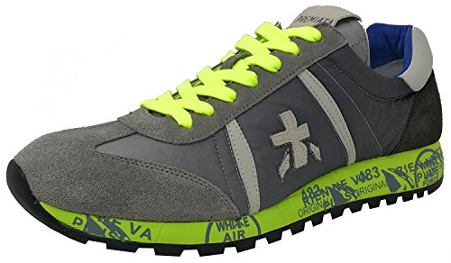 Premiata, Mænd Sneaker Gris / Jaune