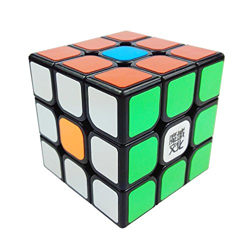 57mm Turn Quicker Three-Layer Brain Tesaer 3x3 Magic Cube PVC sticker ABS Ultra-Smooth Professional Speed Cube Puzzle Twist Hours of Fun Toy Mo Yu Wen Hua, - Mo Outlet