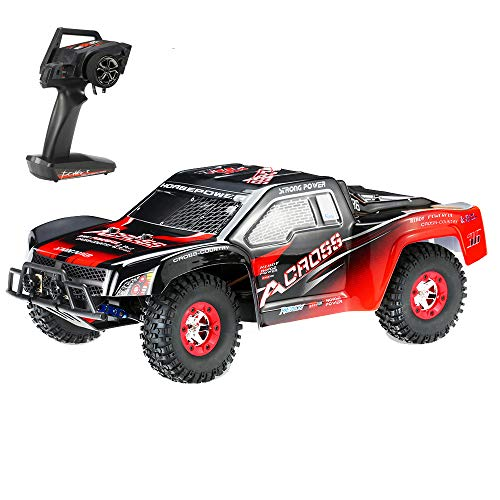 Goolsky Wltoys 12423 1/12 RC Car 2.4G 4WD Electric Brushed Short Course RTR RC Truck