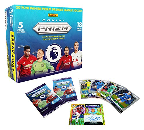 Panini Prizm 2019-2020 English Premier League Soccer Trading Cards Factory Sealed