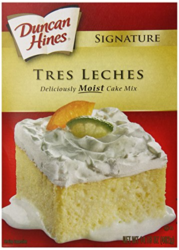 Duncan Hines Tres Leche Cake Mix, 14.18 Ounce ()