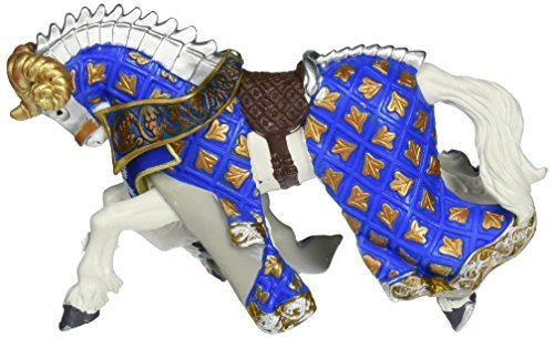 Papo 39914 Figurine - Knight's Horse with Ram's Head Champron by ()