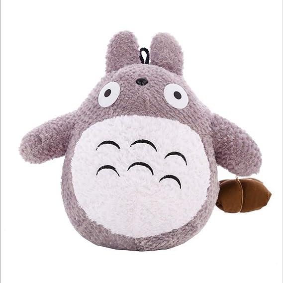 ELECTOLS Mi Vecino Totoro Plush Doll Cute Wear Clothes Totoro Doll Animal Toy Throw Pillow Decorativo Holiday Birthday Kid Girlfriend Gift 21.7 Inch,65cm(25.6inch): Amazon.es: Hogar