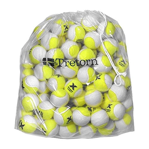 Tretorn Micro-X (2-Tone) Pressureless Tennis Balls (Bag of 72 Balls)