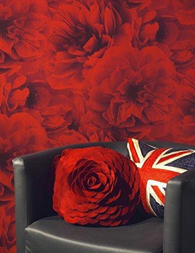 kalika floral red