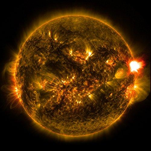 Laminated Poster Solar Flare Nature Print