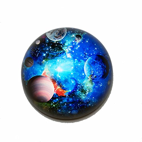 Waltz&F Crystal Galaxy Paperweight Galss Globe Hemisphere Home Office Table Decoration