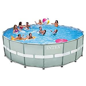 Amazon.com : Intex 18ft X 52in Ultra Frame Pool Set with