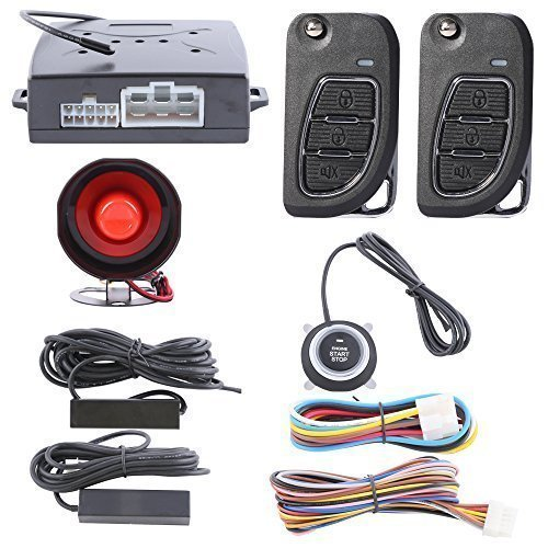easyguard smart key pke car alarm system passive keyless. Black Bedroom Furniture Sets. Home Design Ideas